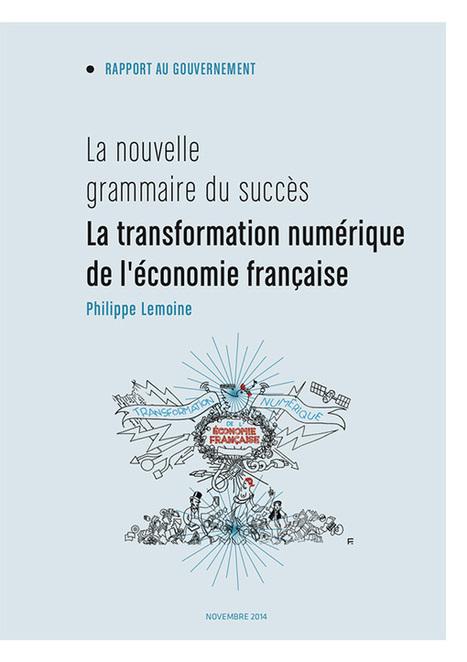 Rapport Lemoine sur la transformation numérique de l'économie française. | cross pond high tech | Scoop.it