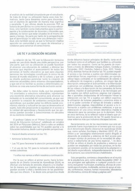 Una mirada sobre las TIC y la Educación Inclusiva | Educacion, ecologia y TIC | Scoop.it