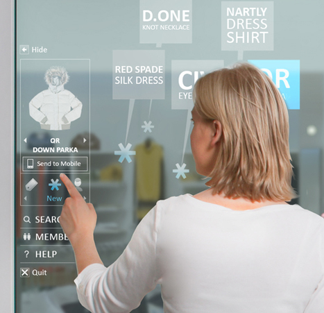 "The future of retail: Intel's augmented reality digital display | SmartPlanet | La ""Réalité Augmentée"" (Augmented Reality [AR]) 