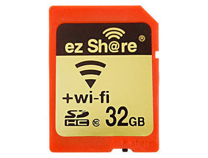 LZeal lanza tarjeta SDHC ezShare con Wi-Fi e interruptor de encendido | VI Tech Review (VITR) | Scoop.it