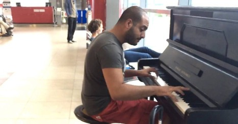 Airport Pianist Wows Travelers With a Beautiful Beethoven Cover | Prozac Moments | Scoop.it