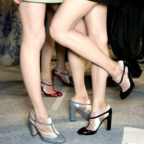 Behold: 80 of the Best Shoes From Paris Fashion Week's Fall 2013 Runways | MyFashion | Scoop.it