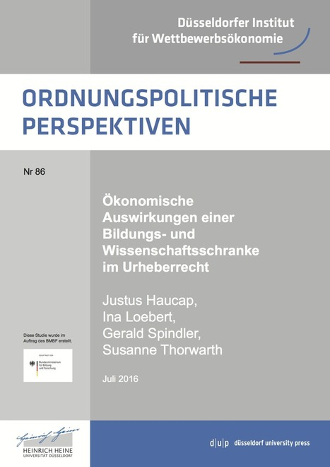 @leonidobusch : Urheberrecht versus Bildung und Wissenschaft – Forscher weisen Wege aus dem Dilemma | Medienbildung | Scoop.it