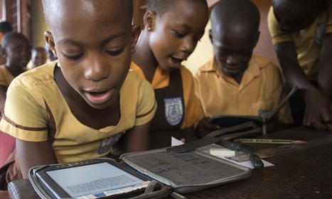 Kindles makes up for lack of books in Ghana's reading revolution | School Libraries around the world | Scoop.it