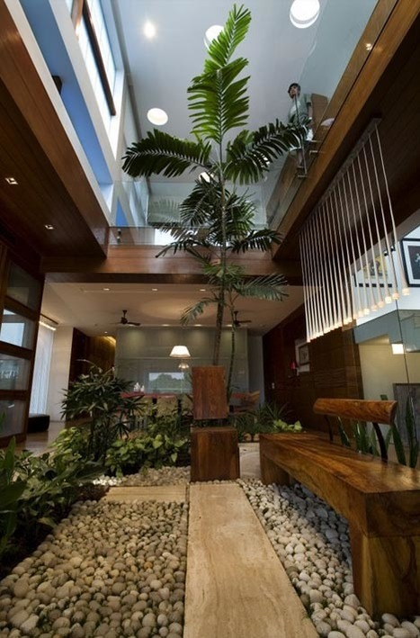 Dream Home Design: Lush Landscape as Interior Decor Idea   Designs & Ideas on Dornob   Garden Designer   Scoop.it
