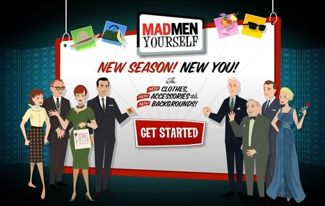 MadMenYourself.com - AMC | Digital Delights - Avatars, Virtual Worlds, Gamification | Scoop.it