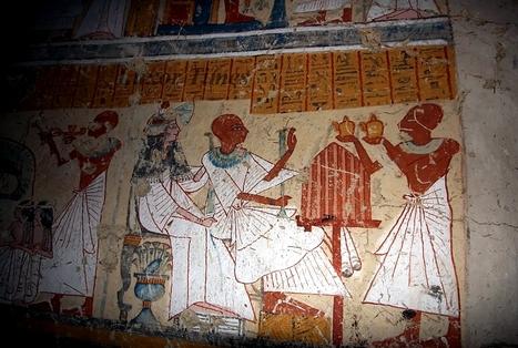 EN IMAGES. Égypte ancienne : entrez dans la tombe du maître brasseur des pharaons ! | Théo, Zoé, Léo et les autres... | Scoop.it
