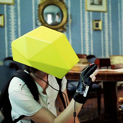 Augmented reality helmet turns the mundane into the fantastic | DVICE | Pervasive Entertainment Times | Scoop.it