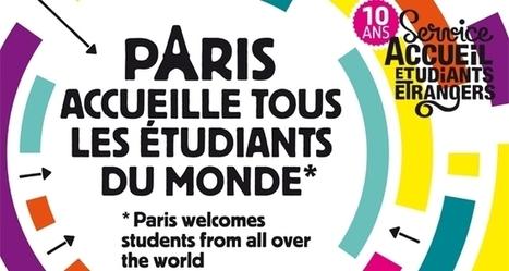 Etudiants étrangers, bienvenue à Paris ! | FLE et nouvelles technologies | Scoop.it