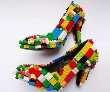 #Funny #Lego #Shoes, via @MiiChicas | Socialart | Scoop.it