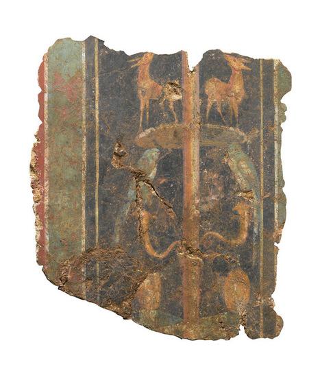 First-Century Roman Wall Painting Unearthed in London - Archaeology Magazine | Bibliothèque des sciences de l'Antiquité | Scoop.it