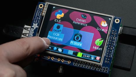 The Adafruit PiTFT Makes Adding a Touch Screen to a Raspberry Pi Easy - Lifehacker | Arduino, Netduino, Rasperry Pi! | Scoop.it