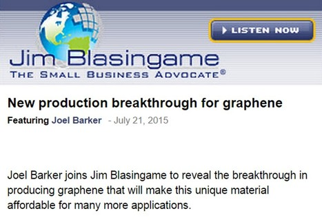 New Production Breakthrough for Graphene | Chats about the Future | Scoop.it