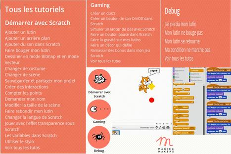 [Vacances ludiques] Démarrer avec #Scratch c'est simple avec @MagicMakersAt   Vie numérique  à l'école - Académie Orléans-Tours   Scoop.it