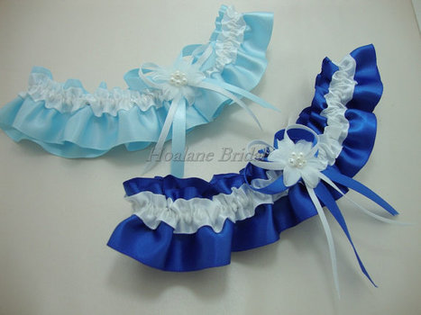 Garter, satin ribbon garter, Bridal garter, Wedding/Prom Garter | Wedding Garters | Scoop.it