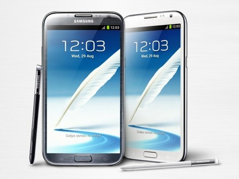 Galaxy Note 2 : Nouvelle vidéo de présentation par Samsung - Be Geek | Digital Think | Scoop.it