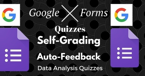 Social Studies Methods and Technology: Google Forms Quizzes: Self-grading, Auto-feedback, Data-analyzing Quizzes | Strictly pedagogical | Scoop.it