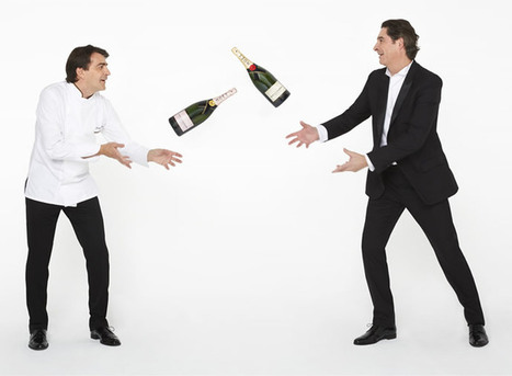 """Moët & Chandon partners with ace French chef Yannick Alléno to create """"Gastronomic"""" concept 
