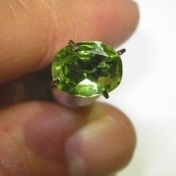 Batu Permata Natural Peridot Green Oval Cut 1.10 Carat | ambisi pribadi | Scoop.it