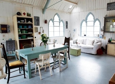 Interior Design Ideas: Converted Tin Chapel Church to Sweet Home | home home sweet home | Scoop.it