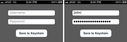 Using Keychain to Store Username and Password   iOS dev   Scoop.it