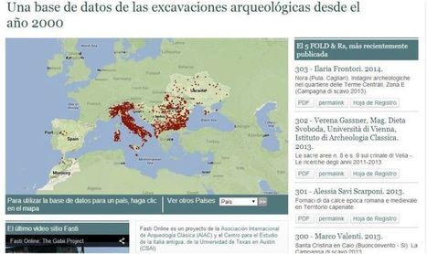 España se suma al proyecto arqueológico Fasti Online gracias a la Universidad | Arqueología, Historia Antigua y Medieval - Archeology, Ancient and Medieval History byTerrae Antiqvae (Blogs) | Scoop.it