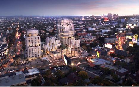 Frank Gehry, [bien]COMPLEJO 8150 Sunset Boulevard en Los Ángeles | The Architecture of the City | Scoop.it