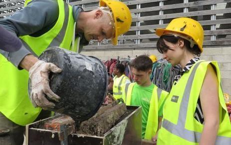 Cergy : dix jeunes exposent à Paris leurs œuvres d'art en béton recyclé | Infos en Val d'Oise | Scoop.it