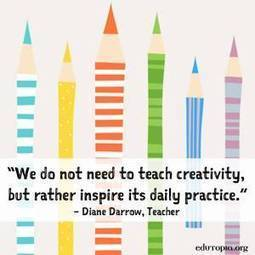 Inspiring Creativity in Our Students | Teaching and learning | Scoop.it