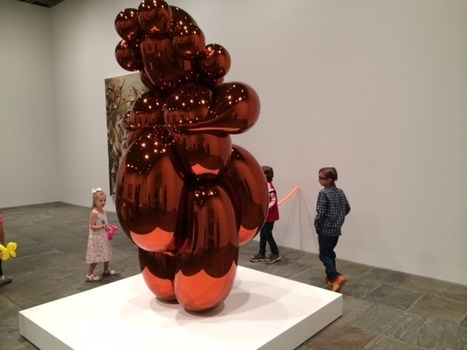 Jeff Koons at the Whitney with Kids | CloudMom | My Parenting Tips | Scoop.it