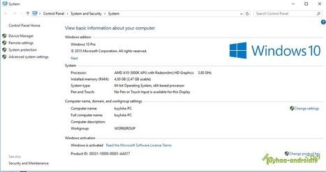 Cara Mudah Aktivasi Windows 10 Semua Versi Secara Permanent   Caragoogle.com   Muhammad Avanda Alvin   Scoop.it