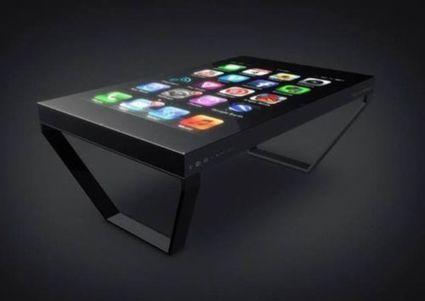 Et l'iPhone devint table basse   Objets connectés   Scoop.it