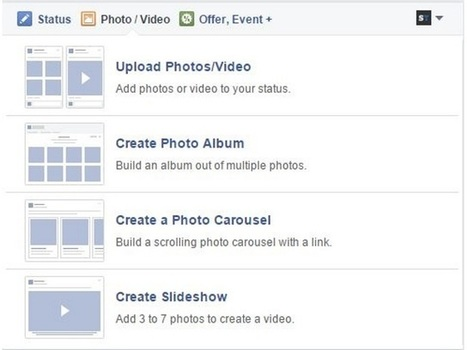 New Photo Upload Options for Facebook Page Admins | SocialTimes | SocialMoMojo Web | Scoop.it