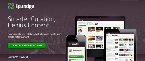 Spundge, una herramienta de curación de contenidos colaborativa - BiblogTecarios | Herramientas de Curación de Contenido | Scoop.it