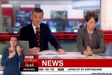 BBC sign language interpreter sacked for 'changing the news' | The Poke: | A Sense of the Ridiculous | Scoop.it