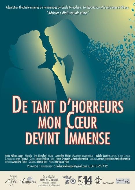 Une pièce de théâtre adaptée du témoignage de Gisèle Giraudeau en tournée dans le département | Histoire 2 guerres | Scoop.it