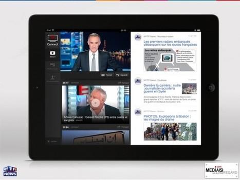Après The Voice et le Sport, Connect adaptée à l'information sur TF1 | Digital & Social innovation | Scoop.it