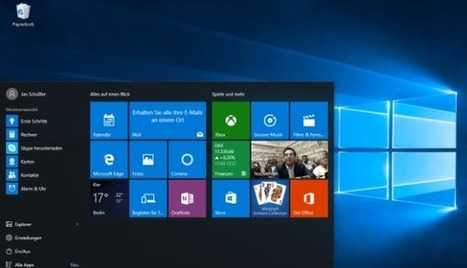 Windows 10: Eine Tour durch Microsofts neues Betriebssystem | Free Tutorials in EN, FR, DE | Scoop.it