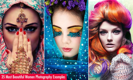 35 Most Beautiful Women Photography Examples and Tips for Taking Great Photos of Women | Everything Photographic | Scoop.it