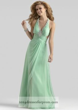Mint Long Beaded Halter V Neck Cut Out Prom Dress [mint long prom dresses] - $155.00 : Cheap Sequin Prom Dresses2014,Online Tailored Prom Dresses Shop,Homecoming Dresses Cheap | sherri hill prom dresses 2014 | Scoop.it