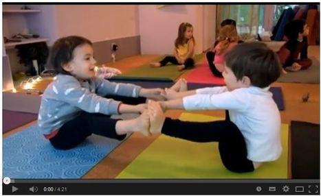 Vidéo : le Yoga pour les tout-petits - Doctissimo (Blog) | Yoga, santé et sport | Scoop.it