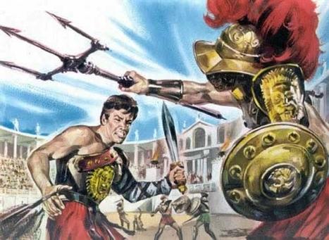 Les gladiateurs | Histoire du Monde | Scoop.it