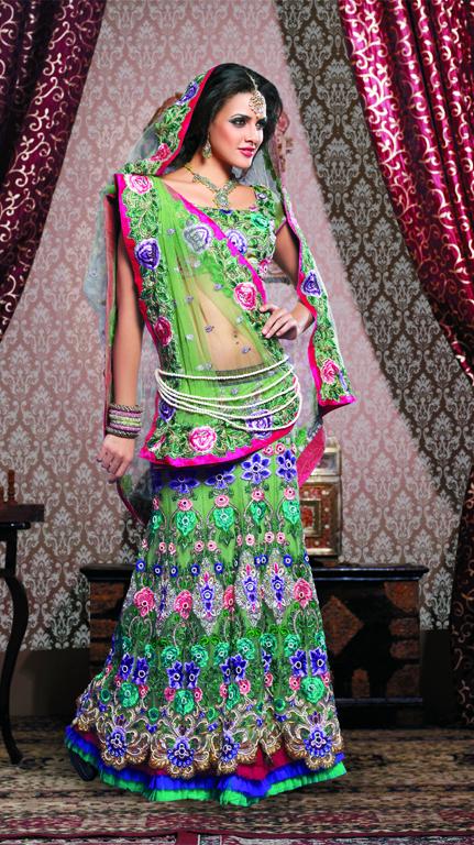 Wedding Bridal Lehengas,Indian Bridal Dresses,Wedding Lehengas   shivamprints.in   Indian Ethnic Wear For Women   Scoop.it