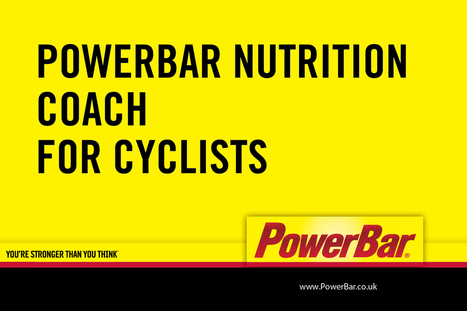 PowerBar Guide to Cycling Nutrition | Alimay Sports Blog | Bicycle Tyres for UK Cycle Market | Scoop.it