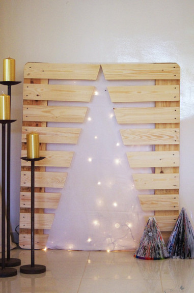 Xmas tree with pallet leftover | Make it new, make it work | Scoop.it