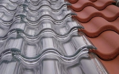 Glass Roof Tiles that Capture Solar Energy To Heat our Home's During Winter | Technology in Business Today | Scoop.it
