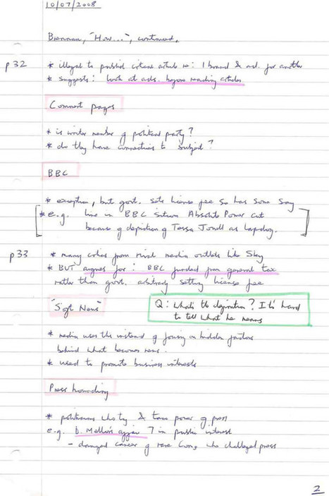 Note-making styles : s3 : University of Sussex   Study skills   Scoop.it