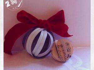 Fabriquer une #boule de #Noël pour le #sapin à partir d'une bouteille de lait | Best of coin des bricoleurs | Scoop.it