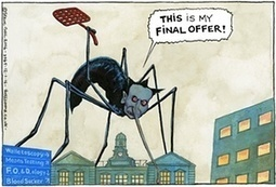 Steve Bell on Jeremy Hunt and junior doctors – cartoon   Welfare, Disability, Politics and People's Right's   Scoop.it
