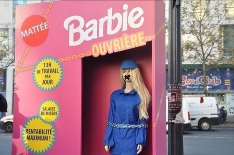 Barbie : ras le bol d'être matée   Barbie ouvrière : campagne Peuples Solidaires Vs Mattel   Scoop.it